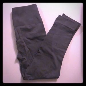 Lululemon grey cropped leggings